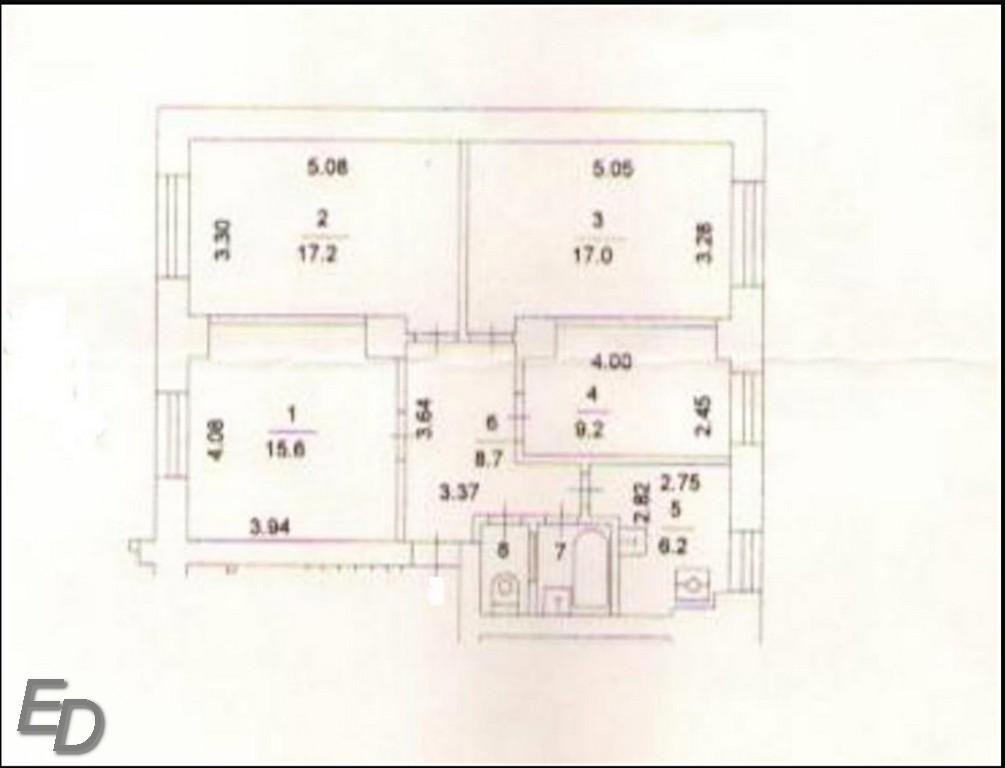 Продажа 4-комнатной квартиры, Москва, Петровско-разумовский Пр.,  16